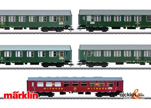 Marklin 42980 - Inter-Zone Express Train Passenger Car Set, Type Y/B 70