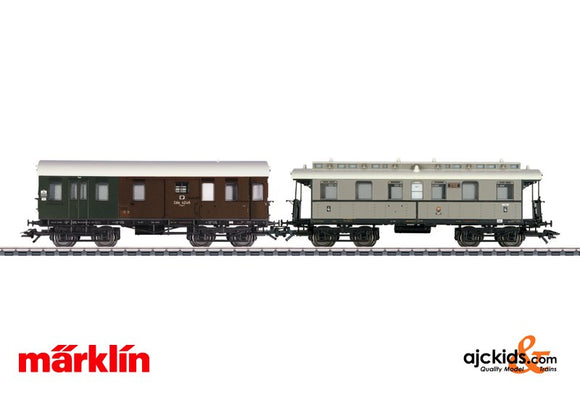 Marklin 43058 - Branch Line Car Set 1 in H0 Scale