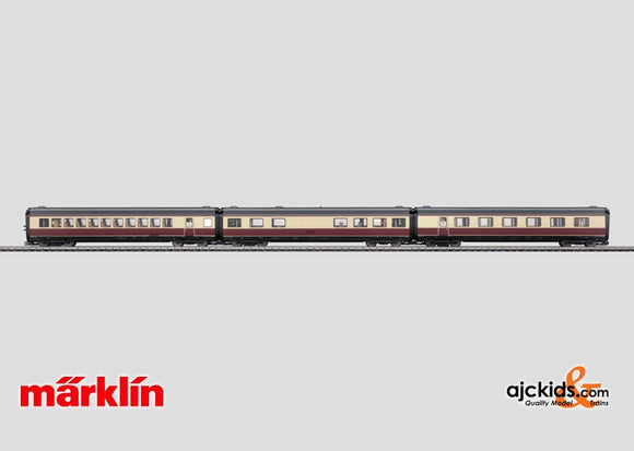 Marklin 43116 - Express Train Passenger Car Set in H0 Scale