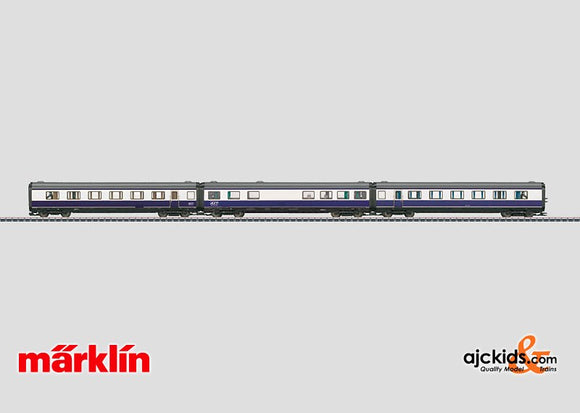 Marklin 43118 - Blue Star Train Add-On Set-only sold with 37608