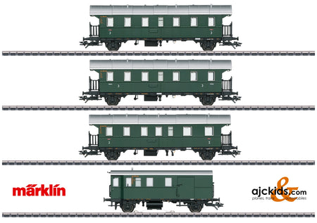 Marklin 43146 - Passenger Car Set with a Cab Control Car