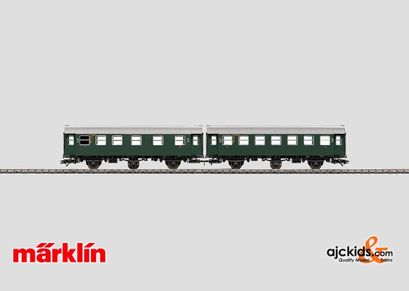 Marklin 43172 - Set with 2 Passenger Cars in H0 Scale