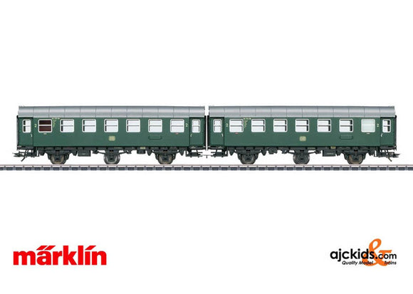 Marklin 43183 - Pair of Passenger Cars; Type B3ygeb