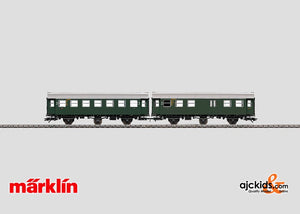 Marklin 43192 - Set with 2 Passenger Cars in H0 Scale