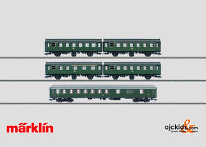 Marklin 43194 - Passenger Car Set Exclusiv 1/13 - Minor Box Damage in H0 Scale