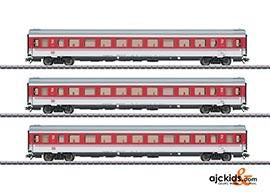 Marklin 43310 - EC 9 Tiziano Express Train Passenger 3-Car Set in H0 Scale