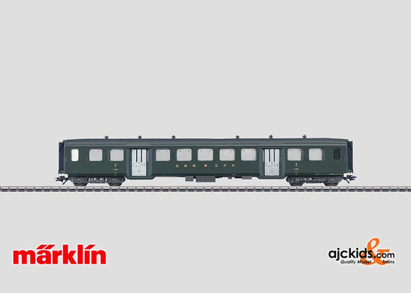 Marklin 43370 - Lightweight Steel Passenger Car in H0 Scale