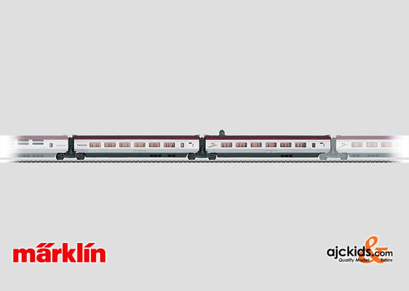 Marklin 43424 - Add-On Car Set 1 for the THALYS PBKA in H0 Scale