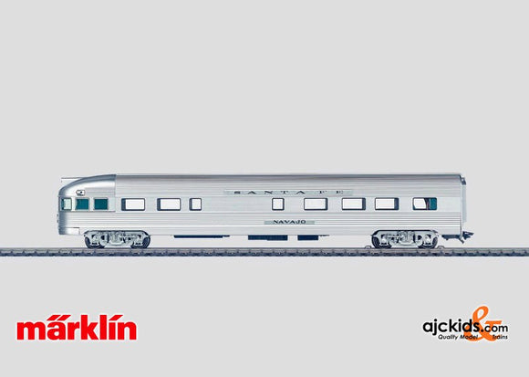 Marklin 43604 - AT&SF Observation car in H0 Scale