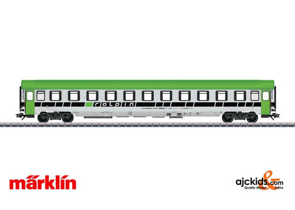 Marklin 43612 - Ralpin AG Type Bcm Driver's Escort Car; Era VI in H0 Scale