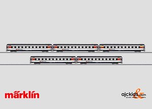 Marklin 43672 - InterCity Express Train Passenger Car Set in H0 Scale