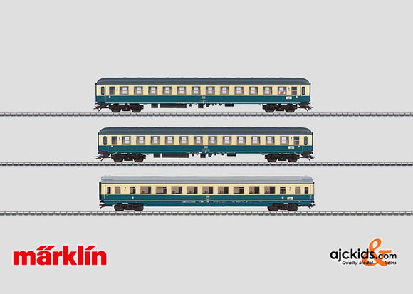 Marklin 43927 - IC Express Train Passenger Car Set