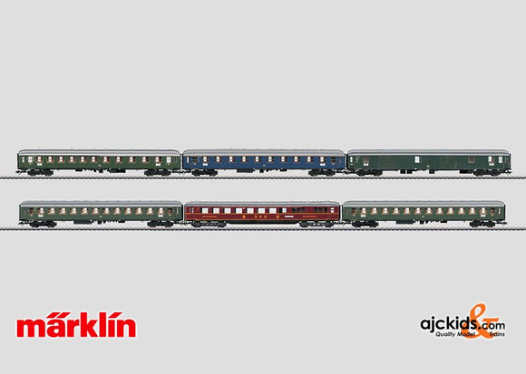 Marklin 43969 - Express Train Passenger Car Set Insider in H0 Scale