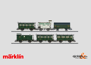 Marklin 43985 - Passenger Car Set with Freight Cars