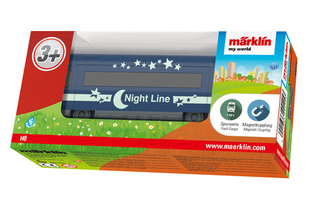 "Marklin 44115 - Marklin my world ""Night Line"" Sleeping Car"