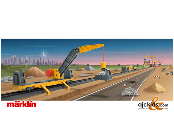 Marklin 44118 - Marklin my world – Crane Car
