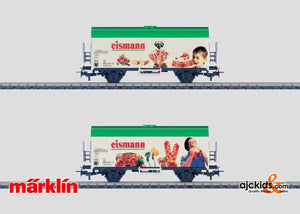 Marklin 44185 - Eismann Refrigerator Car in H0 Scale