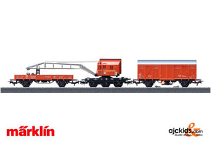 Marklin 44752 - Fire Department Recovery Crane Car Set