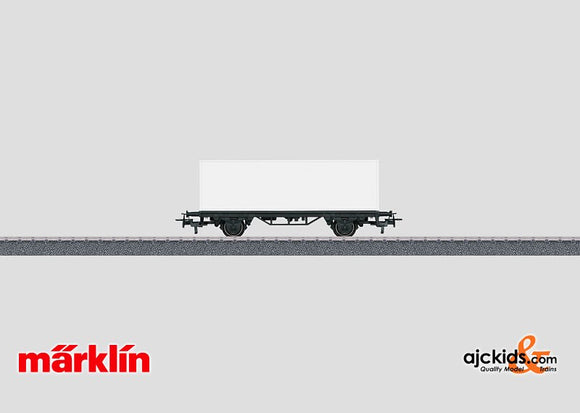 Marklin 44810 - Container Car for Painting in H0 Scale