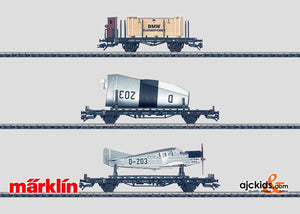 Marklin 45093 - Airplane Transport set in H0 Scale