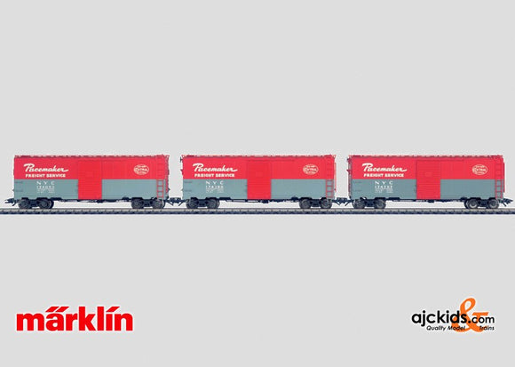 Marklin 45648 - NYC box car set in H0 Scale