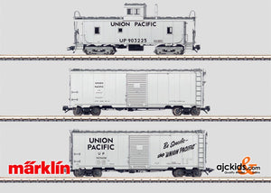 Marklin 45652 - 3 UP Railroad Maintenance Cars in H0 Scale