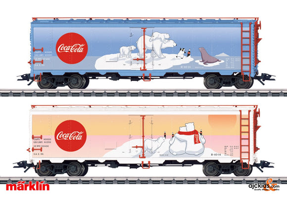 Marklin 45687 - Coca Cola Freight Car Set