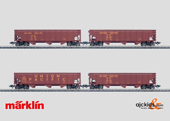 Marklin 45800 - 4 UP hopper cars. in H0 Scale