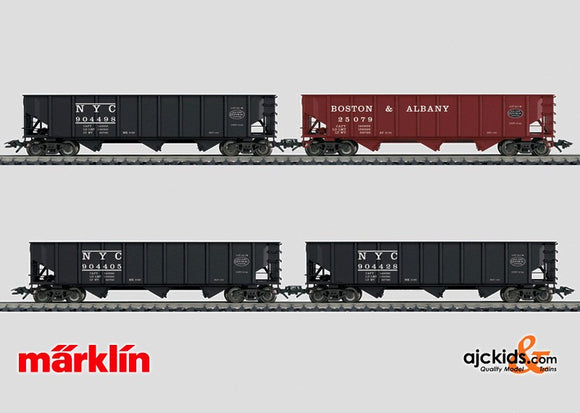 Marklin 45801 - NYC hopper car set in H0 Scale