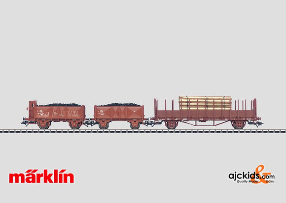 Marklin 46038 - Freight Car Set in H0 Scale