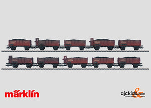 Marklin 46045 - Set with 10 Gondolas