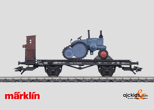 Marklin 46064 - Flat Car with Lanz tractor Exclusiv