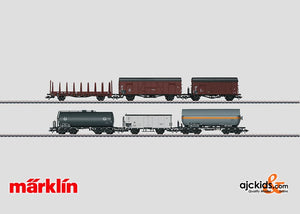 Marklin 46080 - Freight Car Set in H0 Scale
