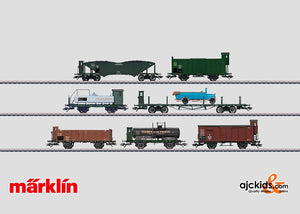 Marklin 46082 - Freight Car Set in H0 Scale