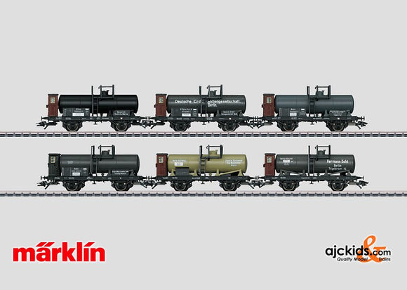 Marklin 46084 - KPEV Tank Car Set Exclusiv