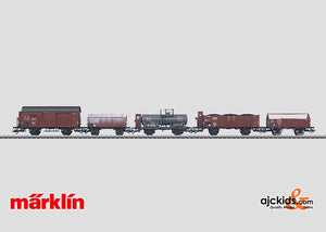 Marklin 46090 - Freight Car Set in H0 Scale