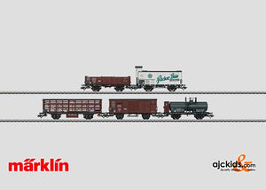 Marklin 46097 - Freight Car Set in H0 Scale