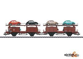 Marklin 46138 - DB Type Offs 59 Pair of Auto Transport Cars in H0 Scale