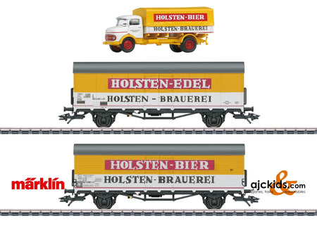 Marklin 46172 - Holsten Beer Refrigerator Car Set