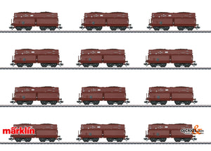 Marklin 46230 - Type OOt Saarbruecken / Erz IId Hopper Car Set with 12 Cars