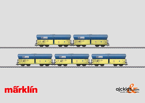 Marklin 46263 - Hopper Car Set type Falns