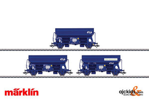 Marklin 46305 - NS Type Tds Hopper 3-Car Set in H0 Scale