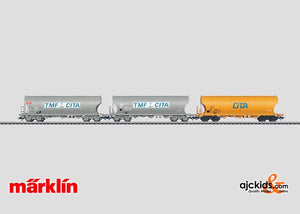 Marklin 46327 - Set with 3 Grain Hopper Cars in H0 Scale