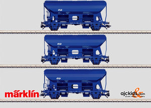Marklin 46340 - 3 Gondolas in H0 Scale
