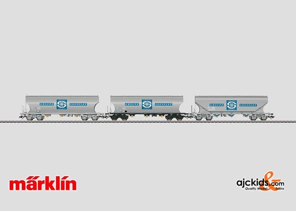 Marklin 46341 - Grain Hopper Car Set Groupe Soufflet