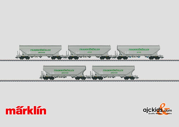 Marklin 46343 - Grain Hopper Car Set Transcereales