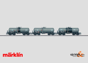 Marklin 46460 - Set with 3 Tank Cars Aretz in H0 Scale