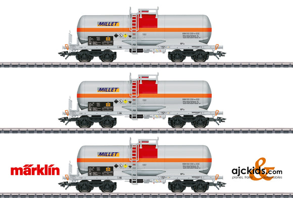 Marklin 46471 - Millet Tank Car Set