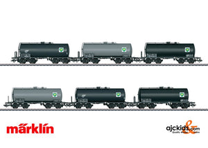 Marklin 46536 - Standard Design Tank Car Set (6)