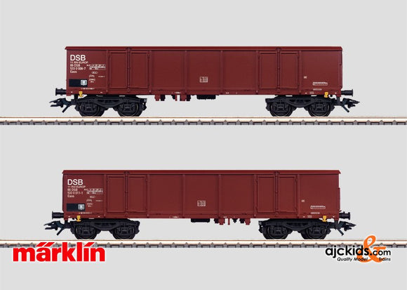 Marklin 46906 - 2 High Side Gondolas in H0 Scale